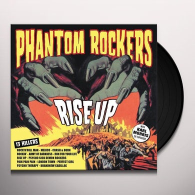 Phantom Rockers RISE UP Vinyl Record