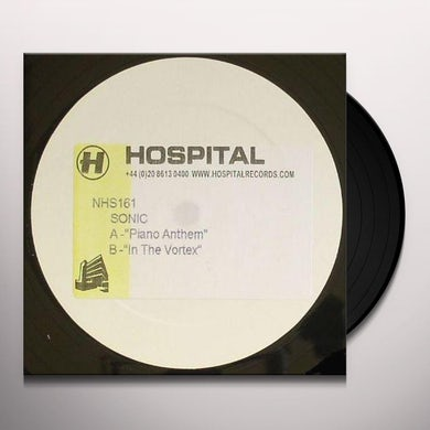Sonic PIANO ANTHEM/IN THE VORTEX Vinyl Record - UK Release