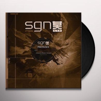 Proxima CRITICAL FORCE/LAYERS Vinyl Record