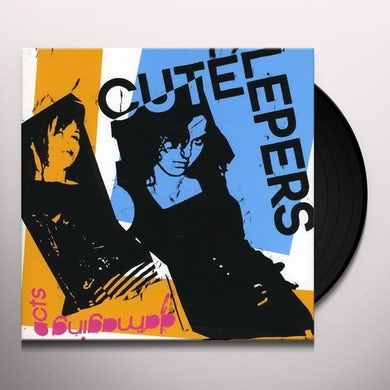 Cute Lepers DAMAGING ACTS Vinyl Record