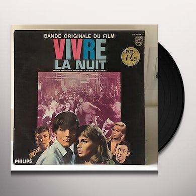 Claude Bolling  VIVRE LA NUIT (FRA) Vinyl Record