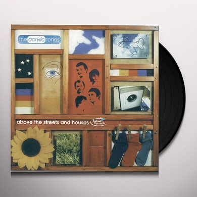 Acrylic Tones ABOVE THE STREETS & HOUSES Vinyl Record