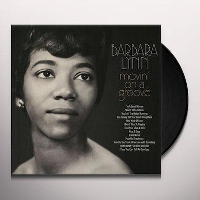 Barbara Lynn MOVIN' ON A GROOVE Vinyl Record - UK Release