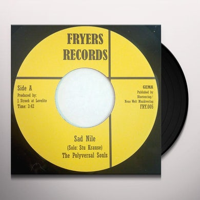 The Polyversal Souls SAD NILE/MUSWELLHILL RUN Vinyl Record - UK Release