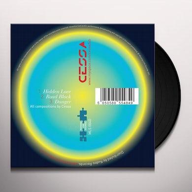 Cessa HIDDEN LOVE/ROADBLOCK Vinyl Record - UK Release