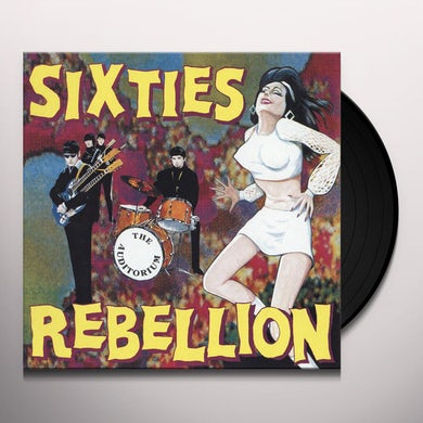 SIXTIES REBELLION 3: THE AUDITORIUM / VARIOUS Vinyl Record