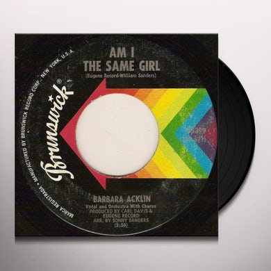 Barbara Acklin AM I THE SAME GIRL Vinyl Record - UK Release