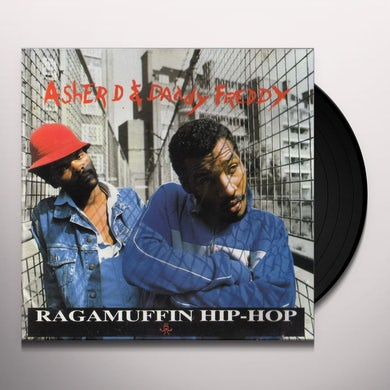D. Asher & Daddy Freddy RAGGA MUFFIN HIP HOP Vinyl Record - UK Release