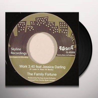 Family Fortune WORK Vinyl Record - UK Release