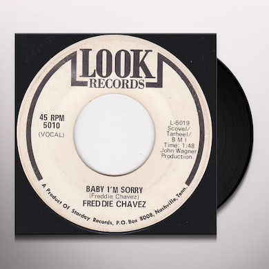 Freddie Chavez THEY'LL NEVER KNOW WHY Vinyl Record