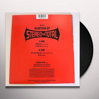Stereo Total PLASTICO (EP) Vinyl Record