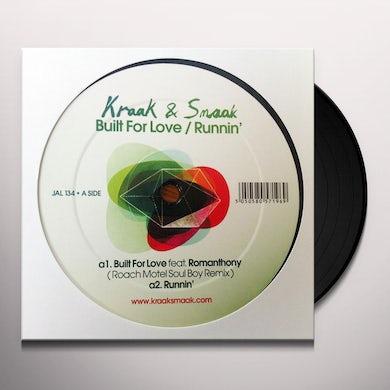 Kraak & Smaak BUILT FOR LOVE/RUNNIN' (UK) (Vinyl)