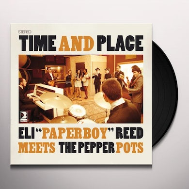 Eli Paperboy Pepper Pots / Reed TIME & PLACE Vinyl Record - Portugal Release