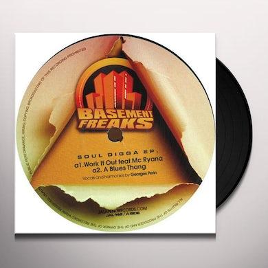 Basement Freaks SOUL DIGGA EP Vinyl Record - UK Release