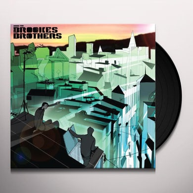 Brookes Brothers IN YOUR EYES/THE BIG BLUE Vinyl Record - UK Release