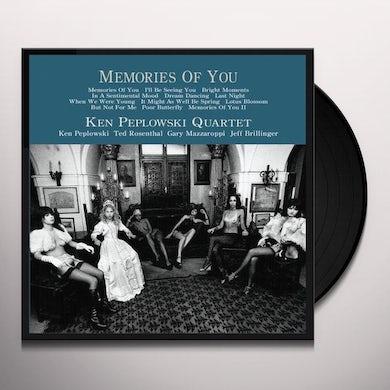 Ken Peplowski MEMORIES OF YOU 1 Vinyl Record