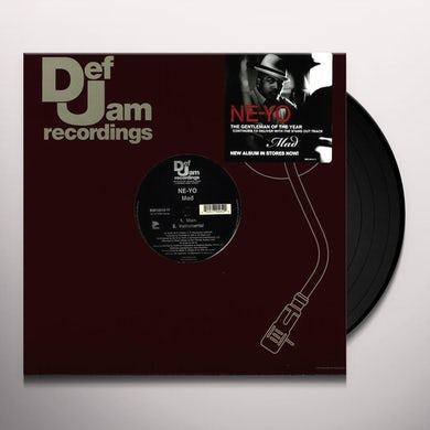 Ne-Yo WHEN YOU'RE MAD (X2) Vinyl Record