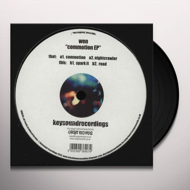 Wen COMMOTION (EP) Vinyl Record