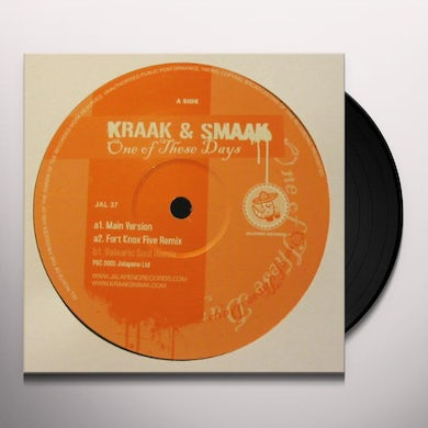 Kraak & Smaak ONE OF THESE DAYS Vinyl Record - UK Release
