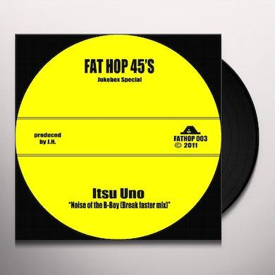 Itsu Uno NOISE OF THE B-BOY Vinyl Record - UK Release