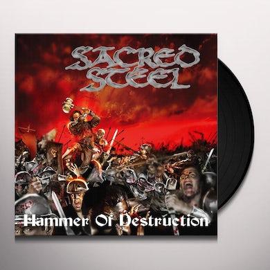 Sacred Steel HAMMER OF DESTRUCTION (GER) (Vinyl)