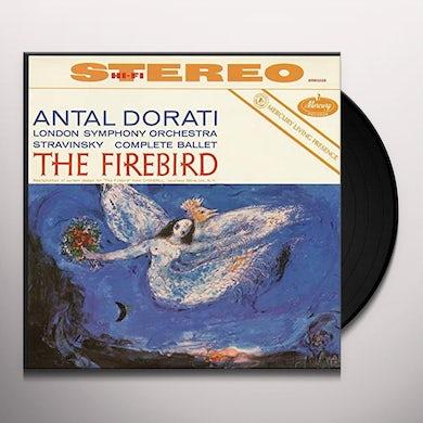 Stravinsky / Dorati London Symphony Orchestra FIREBIRD SUITE Vinyl Record - Limited Edition, 180 Gram Pressing
