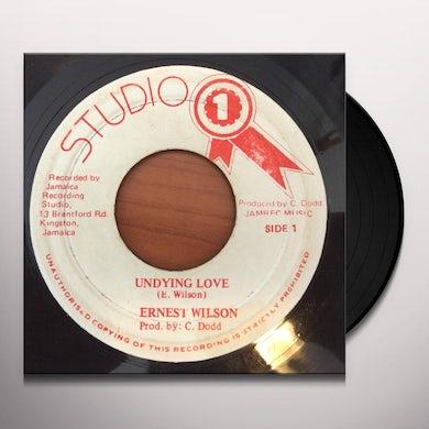 Ernest Wilson UNDYING LOVE Vinyl Record