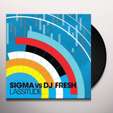 Dj Fresh Vs Sigma LASSITUDE/CYLON Vinyl Record