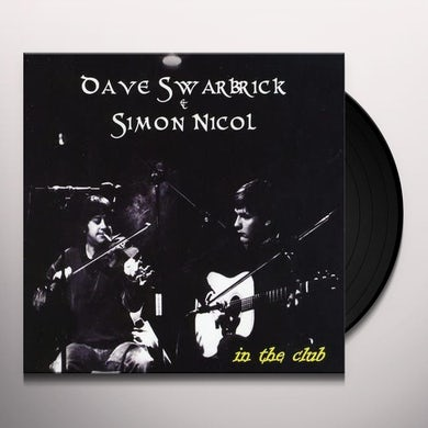Dave Swarbrick IN THE CLUB Vinyl Record