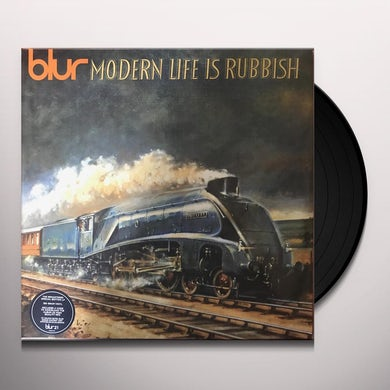 Blur MODERN LIFE IS RUBBISH Vinyl Record