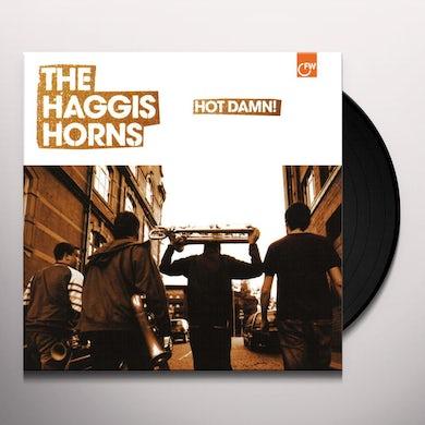 The Haggis Horns HOT DAMN Vinyl Record - UK Release