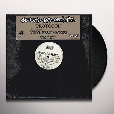 7L & Esoteric PROTOCOL / BE ALERT (1997) Vinyl Record