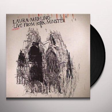 Laura Marling LIVE FROM YORK MINSTER Vinyl Record - 180 Gram Pressing