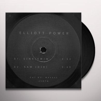 Elliot Power SINK/SWIM Vinyl Record - UK Release