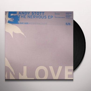 Andy Stott NERVOUS EP (EP) Vinyl Record