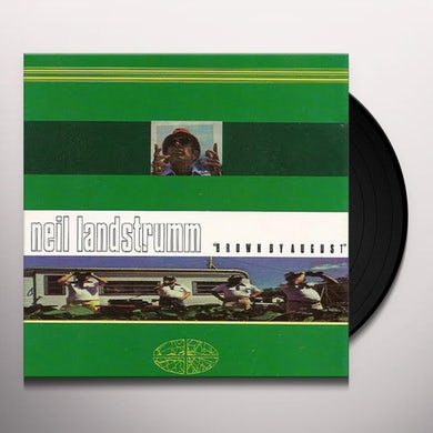 Neil Landstrumm BROWN BY AUGUST Vinyl Record - Limited Edition