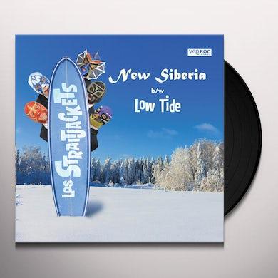Los Straitjackets NEW SIBERIA B/W LOW TIDE Vinyl Record