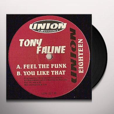 Tony Faline FEEL THE FUNK (Vinyl)