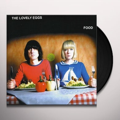 The Lovely Eggs  FOOD/IN WATERMELON SUGAR Vinyl Record