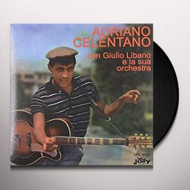 Adriano Celentano CON GIULIO LIBANO E LA SUA ORCHESTRA (WSV) (Vinyl)
