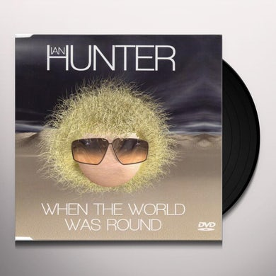 Ian Hunter WHEN THE WORLD WAS ROUND Vinyl Record - UK Release