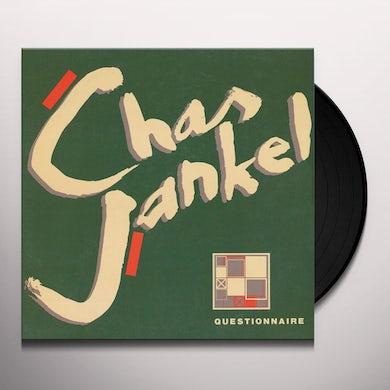 Chaz Jankel QUESTIONAIRE Vinyl Record - UK Release