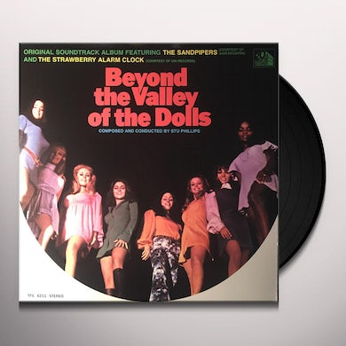 BEYOND THE VALLEY OF THE DOLLS / O.S.T. Vinyl Record - UK Release