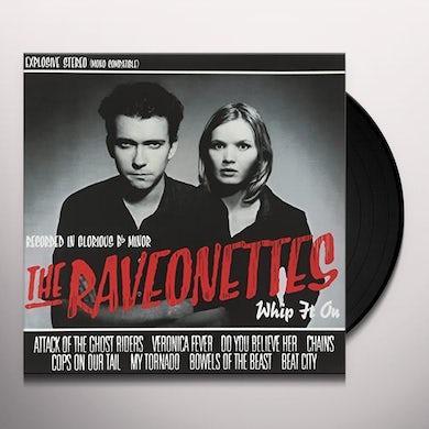 The Raveonettes WHIP IT ON Vinyl Record - 180 Gram Pressing