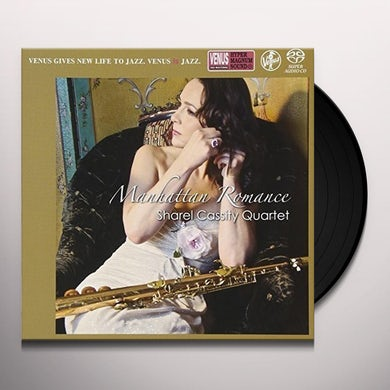 Sharel Cassity MANHATTAN ROMANCE Vinyl Record - Japan Release