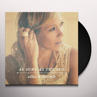 Ellie Holcomb AS SURE AS THE SUN Vinyl Record