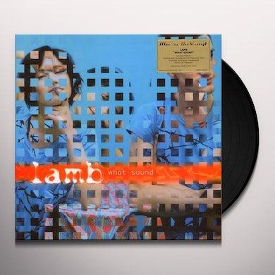 Lamb WHAT SOUND Vinyl Record