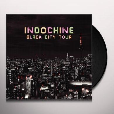 Indochine BLACK CITY TOUR Vinyl Record