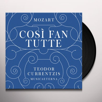 TEODOR CURRENTZIS MOZART: COSI FAN TUTTE Vinyl Record - Holland Release