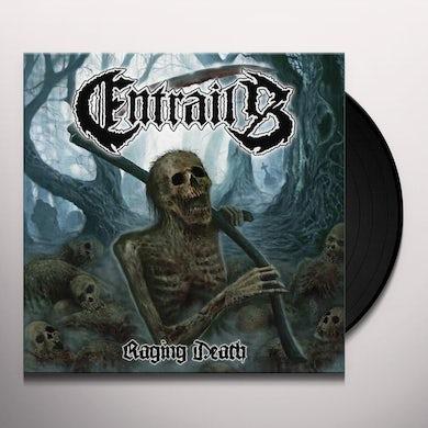 Entrails RAGING DEATH Vinyl Record - Holland Release